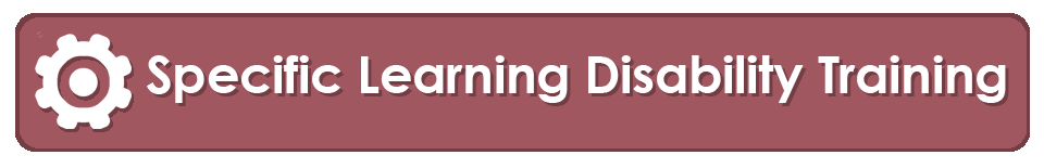 specific learning disability training banner